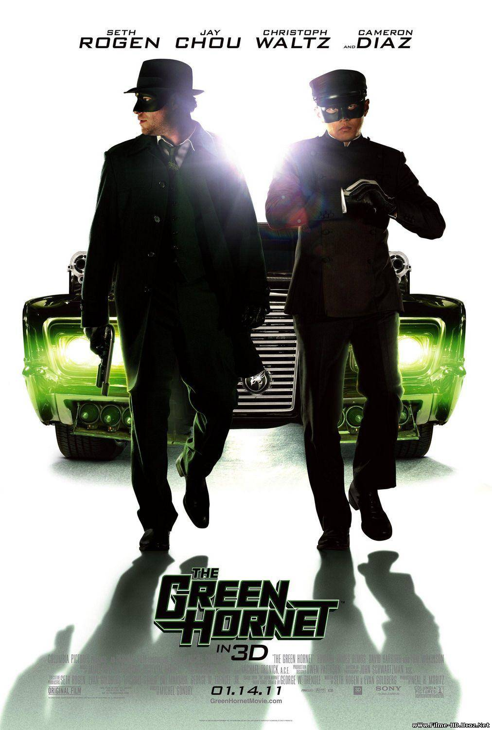 Viespea verde - The Green Hornet (2011)